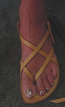 Womens handmade leather sandals - all sandals at islandsandals.com are handmade with quality leather